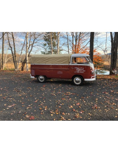 Pick Up Canvas Flush to Cabin Height for Split Single Cab