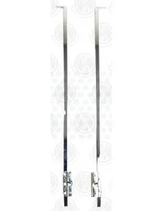 Pre 67 Beetle Quarter Light Bar in Chrome Pair