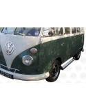 Deluxe Polished Aluminium Side Step for VW T2 Splits