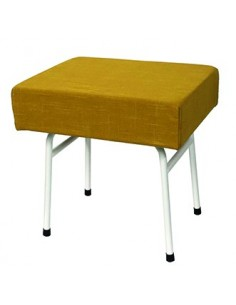 Westfalia Mustard fabric steel frame buddy seat same as original for T2 splits and Early Bay