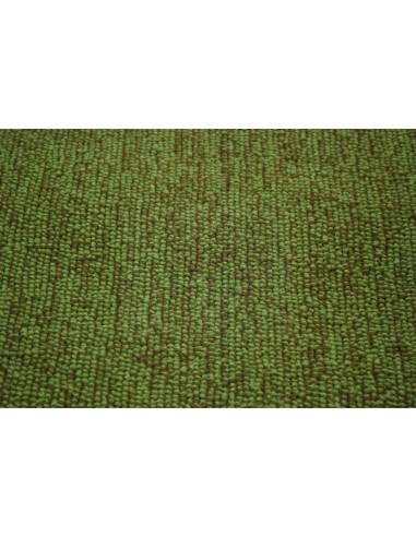 Westfalia bay window cargo floor area carpet in green