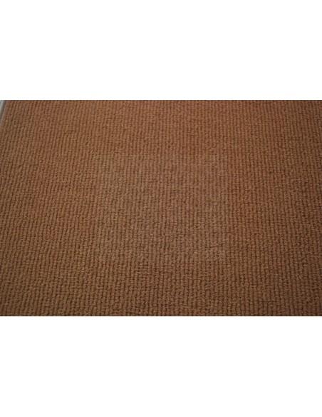 Westfalia bay window cargo floor area carpet in brown