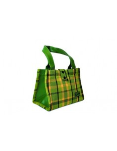 NLA Westy Westfalia hand bag in Green plaid