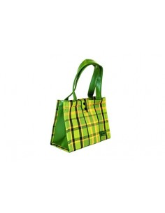 NLA Westy Westfalia hand bag in Green plaid