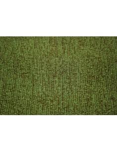 Westfalia bay carpet in green by the meter