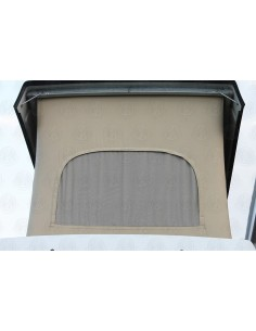Late VW T25 Westfalia Roof Canvas Basic Tan 3 Window