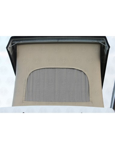 Late VW T25 Westfalia Roof Canvas Basic Tan 3 Window