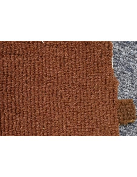 Westfalia bay window cab carpet in orange