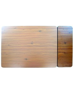 Westfalia Berlin Table woodboard smaller part with black edge trim