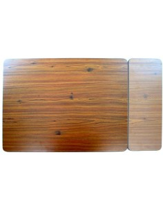 Westfalia Berlin Table woodboard large part with black edge trim