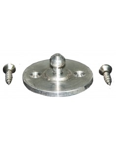 Westfalia Berlin table small part Aluminium button + 2 screws
