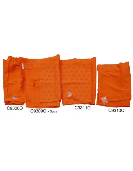 Westfalia Late Bay orange curtain set 10pcs