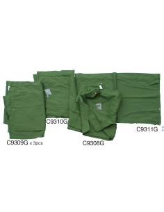 Westfalia Late Bay Green curtain set 10pcs