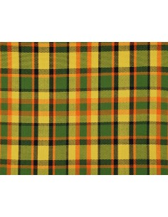Westfalia yellow plaid seat cloth as original per metre