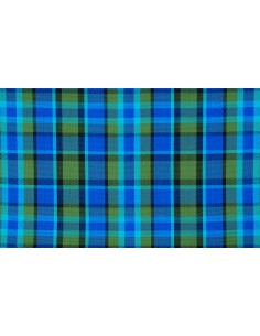 Westfalia blue plaid seat cloth as original by the metre