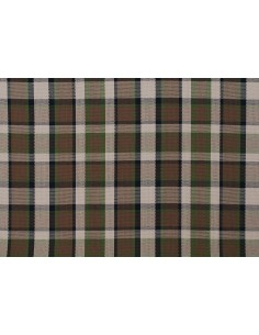 Westfalia beige plaid seat cloth as original by the metre