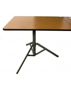 Westfalia folding steel tripod table leg
