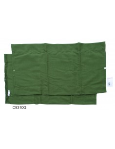 Westfalia Rear Window Curtain for VW T2 Bay in Green