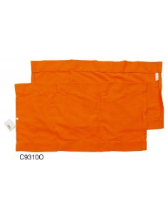 Westfalia Rear Window Curtain for VW T2 Bay in Orange