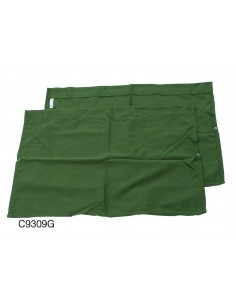 Westfalia Side Window Curtain for VW T2 Bay in Green