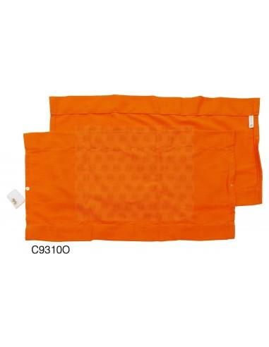 Westfalia Side Window Curtain for VW T2 Bay in Orange