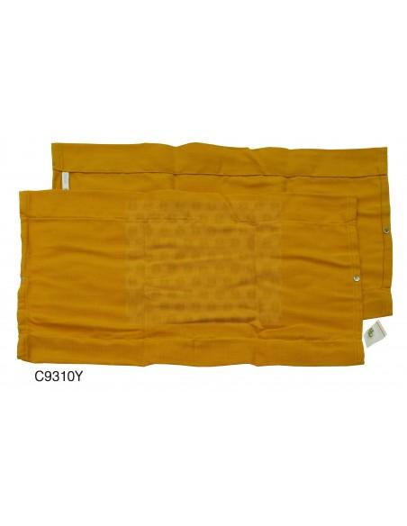 Westfalia Side Window Curtain for VW T2 Bay in Yellow