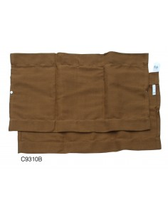 Westfalia Side Window Curtain for VW T2 Bay in Brown