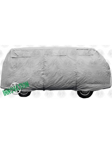 Deluxe Air-Vented Silver Van Cover
