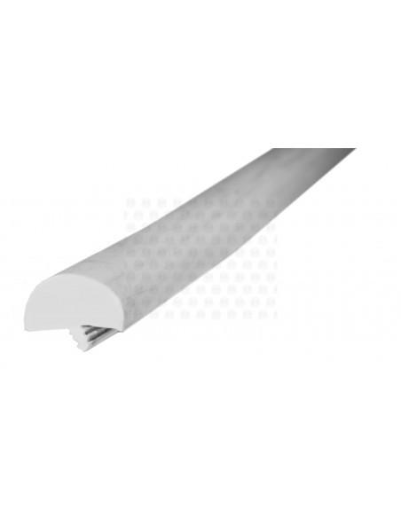 Rubber Edge Trim, Thick T Profile(solid T profile) in Grey (per metre)
