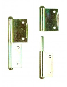 Westfalia cupboard door hinges a pair L-R SO23 SO43