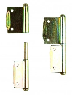 Westfalia cupboard door hinges a pair R-L SO23 SO43