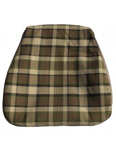 Westfalia Late Bay Seat Cover in Beige Plaid 1975-1979
