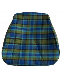 Westfalia Late Bay Seat Cover in Blue Plaid 1975-1979