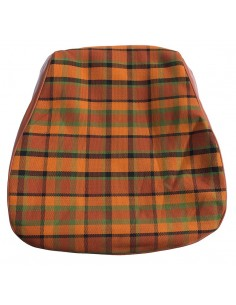 Westfalia Late Bay Seat Cover in Orange Plaid 1975-1979