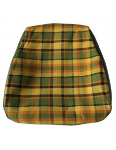 Westfalia Late Bay Seat Cover in Yellow Plaid 1975-1979