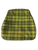 Westfalia Late Bay Seat Cover in Green Plaid 1975-1979