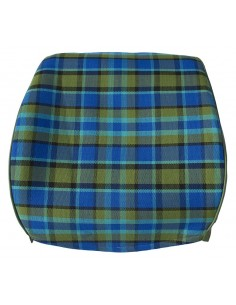 Westfalia Late Bay Full Back Seat Cover in Blue Plaid 1975-1979