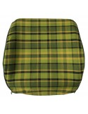 Westfalia Late Bay Open Back Seat Cover in Green Plaid 1975-1979