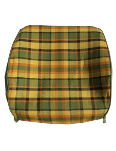 Westfalia Late Bay Open Back Seat Cover in Yellow Plaid 1975-1979