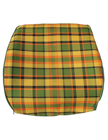 Westfalia Late Bay Full Back Seat Cover in Yellow Plaid 1975-1979