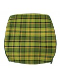 Westfalia Late Bay Full Back Seat Cover in Green Plaid 1975-1979