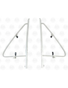 Opening Quarter Light Bar & Frame for T25 Pair