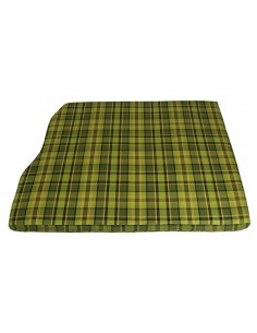 Westfalia Green Plaid Engine Foam Cover 3/4 Width 1974-1979