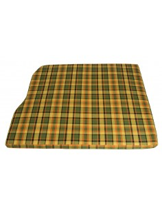 Westfalia Yellow Plaid Engine Foam Cover 3/4 Width 1974-1979