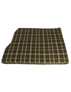 Westfalia Beige Plaid Engine Foam Cover 3/4 Width 1974-1979