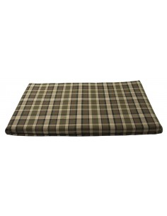 Westfalia Beige Plaid Upper Bed Foam Cover Small 1974-1979