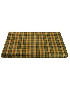 Westfalia Yellow Plaid Upper Bed Foam Cover Small 1974-1979