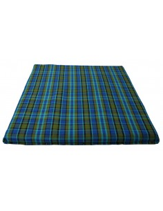 Westfalia Blue Plaid Upper Bed Cover Large 1974-1979