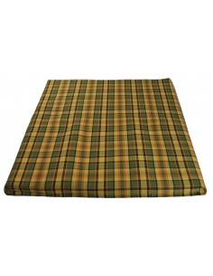 Westfalia Yellow Plaid Upper Bed Cover Large 1974-1979