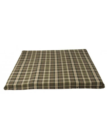 Westfalia Beige Plaid Upper Bed Cover Large 1974-1979